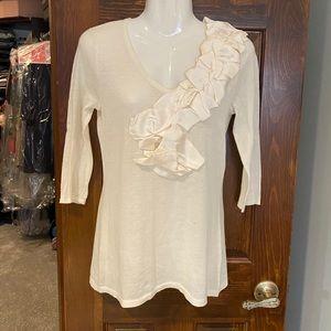 Magaschoni knit blouse.
